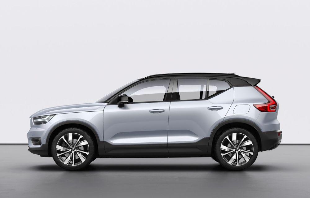 Volvo XC40 Recharge: primul model 100% electric Volvo anunță o autonomie de 400 de kilometri - Poza 9