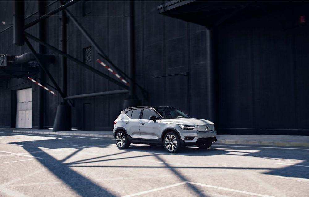 Volvo XC40 Recharge: primul model 100% electric Volvo anunță o autonomie de 400 de kilometri - Poza 28