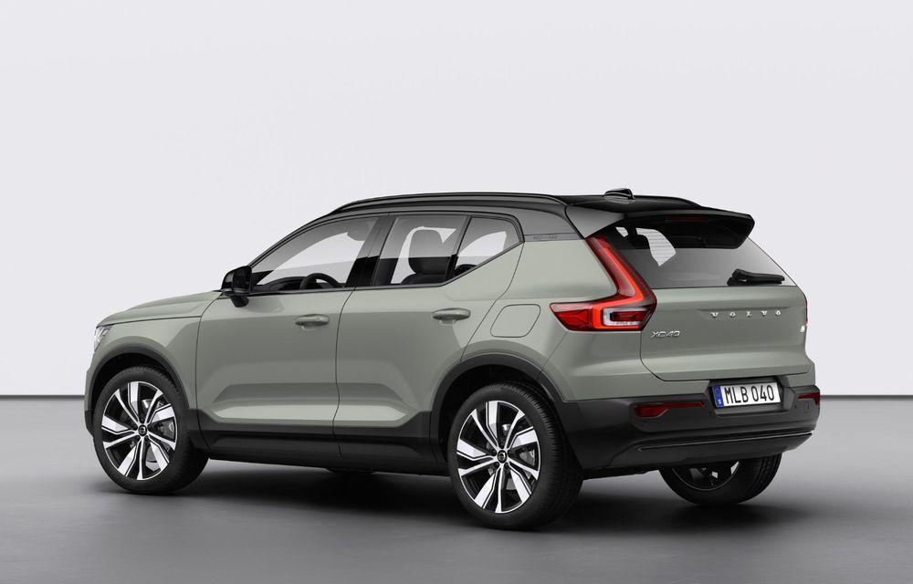 Volvo XC40 Recharge: primul model 100% electric Volvo anunță o autonomie de 400 de kilometri - Poza 2