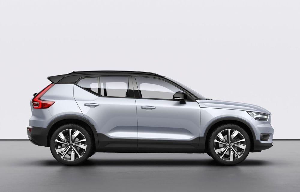 Volvo XC40 Recharge: primul model 100% electric Volvo anunță o autonomie de 400 de kilometri - Poza 18