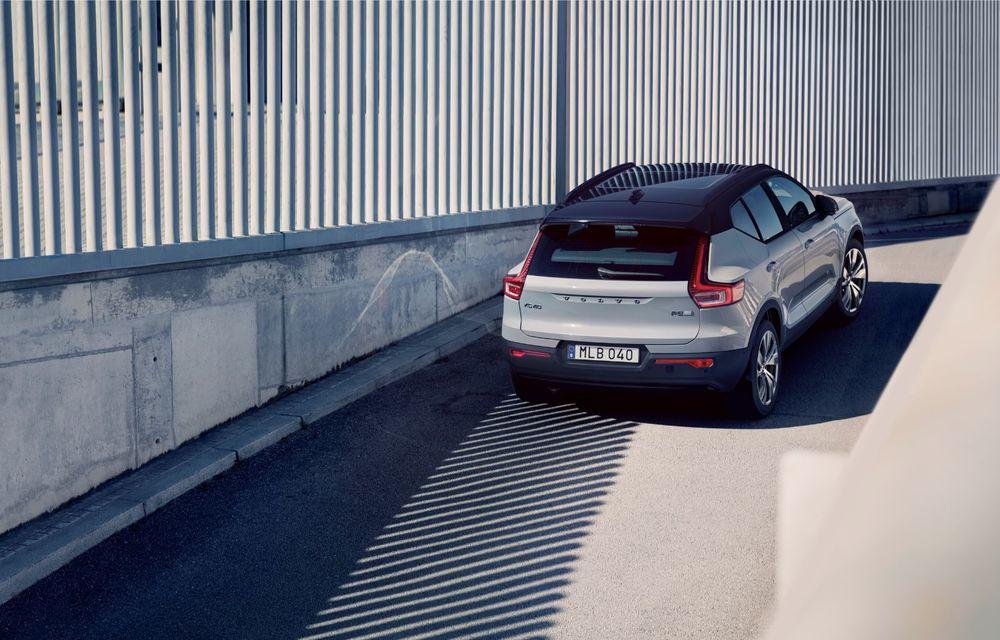 Volvo XC40 Recharge: primul model 100% electric Volvo anunță o autonomie de 400 de kilometri - Poza 20
