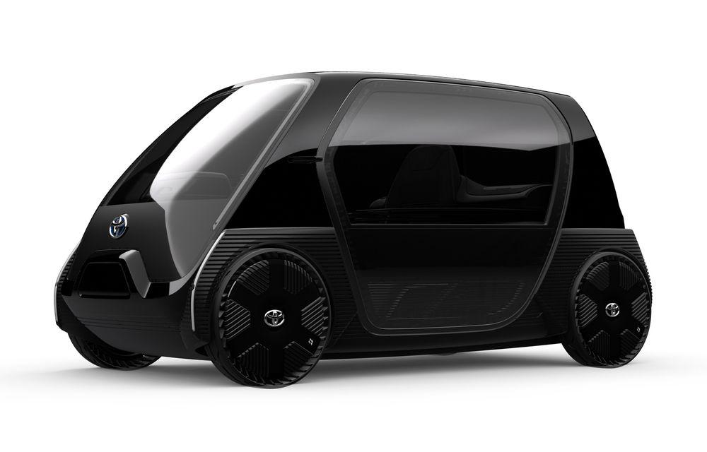 Toyota prezintă imagini și detalii tehnice despre primul său model electric: rivalul lui Smart EQ Fortwo are autonomie de 100 de kilometri - Poza 3