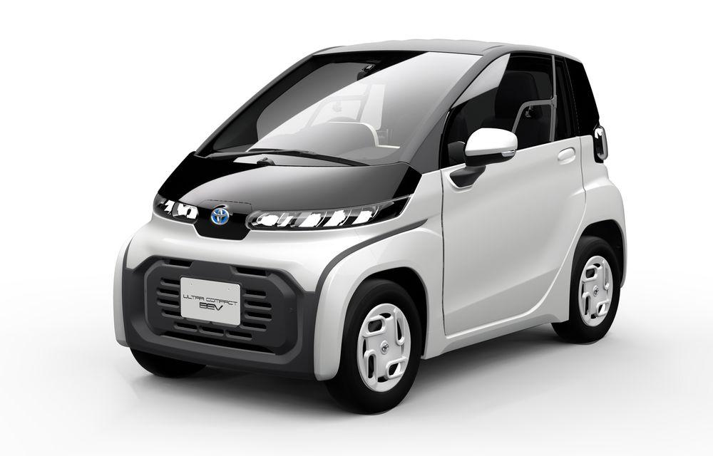 Toyota prezintă imagini și detalii tehnice despre primul său model electric: rivalul lui Smart EQ Fortwo are autonomie de 100 de kilometri - Poza 1