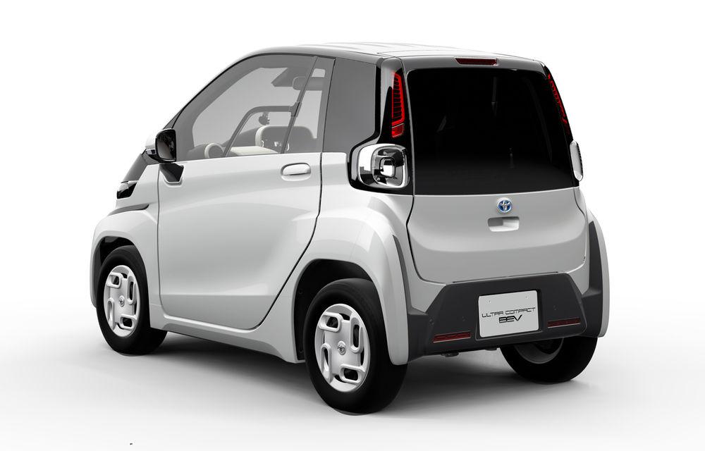 Toyota prezintă imagini și detalii tehnice despre primul său model electric: rivalul lui Smart EQ Fortwo are autonomie de 100 de kilometri - Poza 2