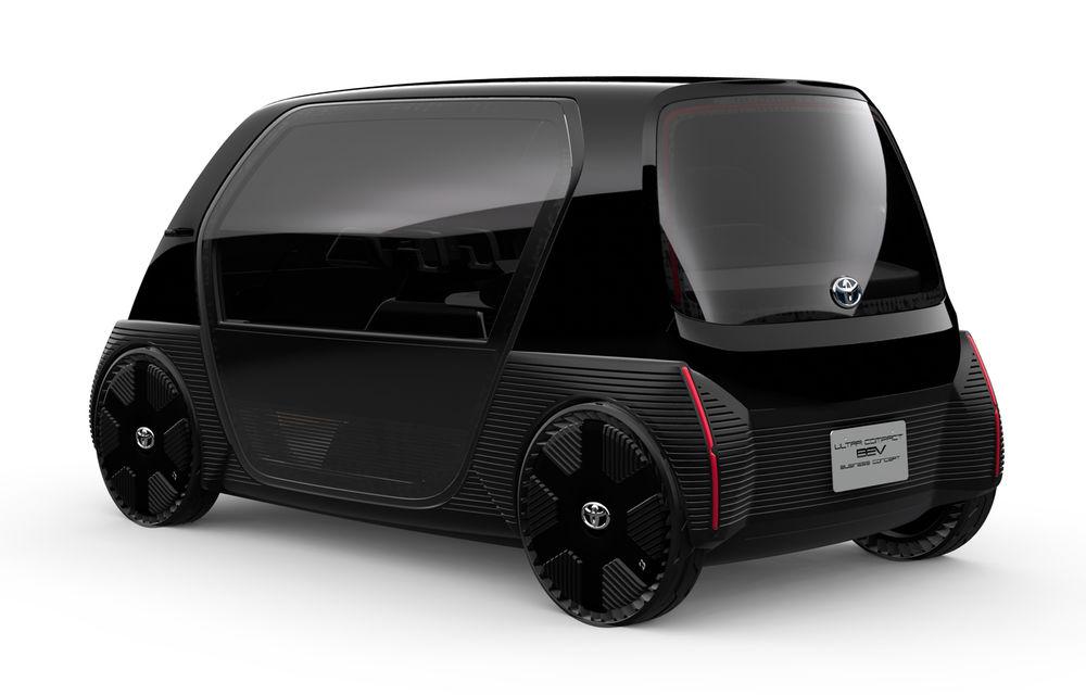 Toyota prezintă imagini și detalii tehnice despre primul său model electric: rivalul lui Smart EQ Fortwo are autonomie de 100 de kilometri - Poza 5