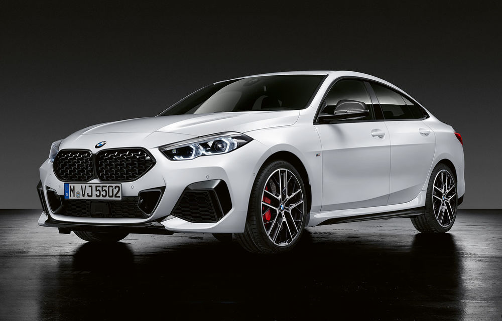 Personalizare cu accente sportive: BMW a lansat o gamă de accesorii M Performance pentru noul Seria 2 Gran Coupe - Poza 1