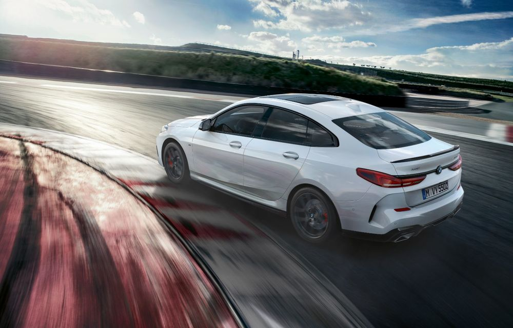 Personalizare cu accente sportive: BMW a lansat o gamă de accesorii M Performance pentru noul Seria 2 Gran Coupe - Poza 4