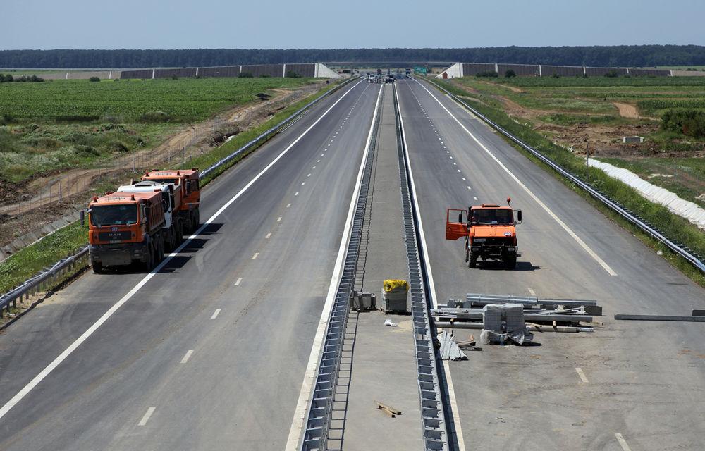 Soluții de compromis: lotul 3 al autostrăzii A1 Lugoj-Deva ar putea fi deschis cu o limită de viteză de 80 km/h - Poza 1