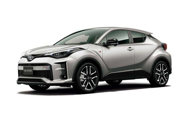 Toyota lansează o versiune nouă pentru C-HR: GR Sport condimentează SUV-ul nipon cu accesorii sport - Poza 2
