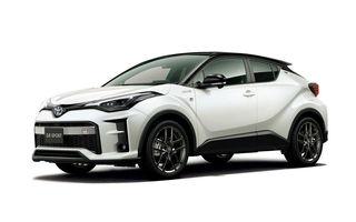 Toyota lansează o versiune nouă pentru C-HR: GR Sport condimentează SUV-ul nipon cu accesorii sport