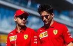 """Vettel își laudă coechipierul: """"Leclerc este rapid și m-a ajutat să înțeleg mai bine monopostul Ferrari"""""""