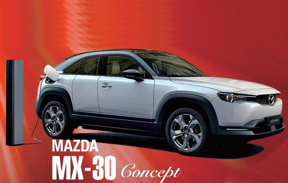 Prima imagine cu Mazda MX-30: primul model electric al japonezilor va fi prezentat în 23 octombrie - Poza 1