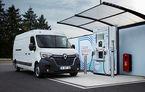 Renault introduce alimentarea cu hidrogen pe utilitare: autonomiile lui Renault Kangoo ZE și Master ZE cresc la peste 350 de kilometri