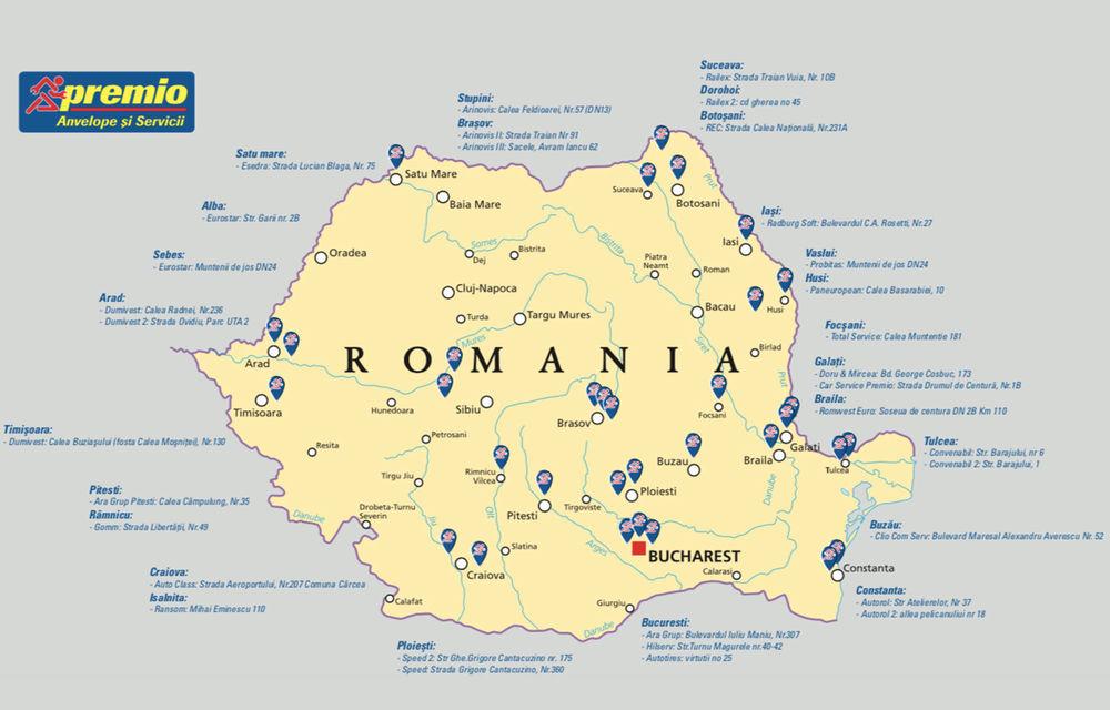 (P) 35 de puncte de service Premio în România la 10 ani de la debutul pe piața locală: programare online pentru schimbul de anvelope și servicii conexe rapide - Poza 2