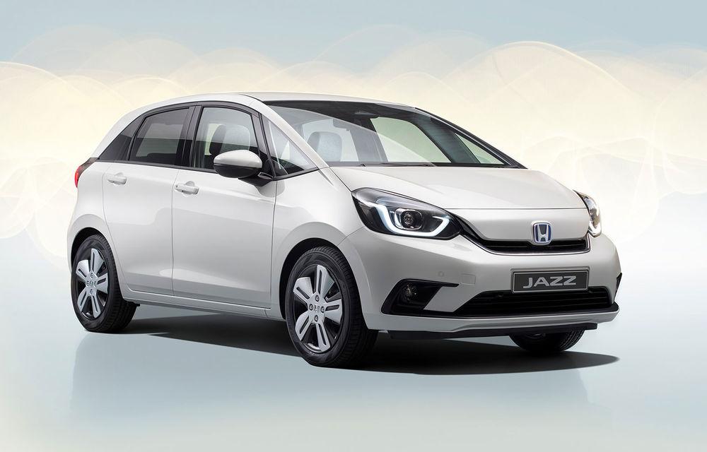 Primele imagini și detalii oficiale referitoare la noua generație Honda Jazz: modelul de clasă mică va fi disponibil exclusiv cu un sistem hibrid de propulsie - Poza 1