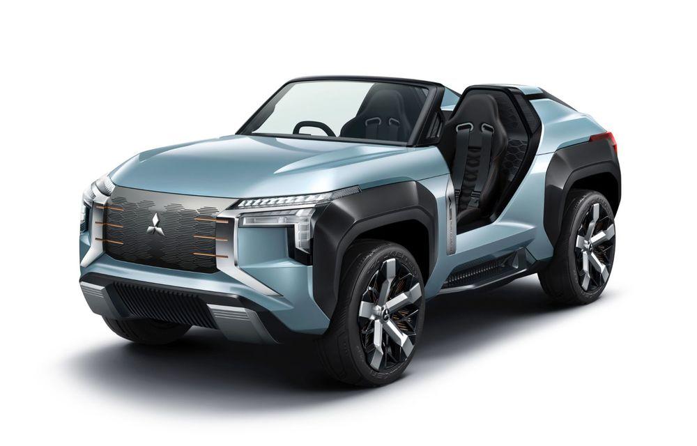Mitsubishi Mi-Tech Concept a fost expus la Tokyo: prototipul are patru motoare electrice și o turbină cu gaze cu rol de range extender - Poza 3