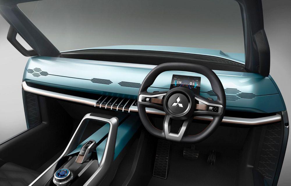 Mitsubishi Mi-Tech Concept a fost expus la Tokyo: prototipul are patru motoare electrice și o turbină cu gaze cu rol de range extender - Poza 6