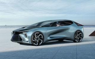 Conceptul LF-30 anunță primul model electric în gama Lexus: autonomie de până la 500 de kilometri și 4 motoare electrice ce dezvoltă un total de 540 CP