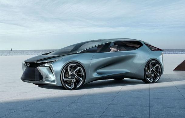 Conceptul LF-30 anunță primul model electric în gama Lexus: autonomie de până la 500 de kilometri și 4 motoare electrice ce dezvoltă un total de 540 CP - Poza 1
