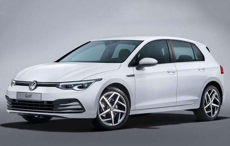 """Acesta este noul Volkswagen Golf: primele imagini cu modelul compact, """"scăpate"""" pe internet înainte de prezentarea oficială - Poza 6"""