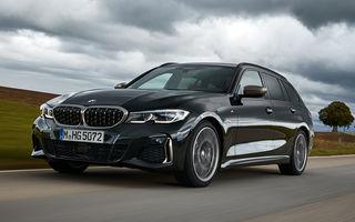 Informații noi despre BMW Seria 3 Touring M340i xDrive: motor de 3.0 litri cu 374 CP și accelerație de la 0 la 100 km/h în 4.5 secunde
