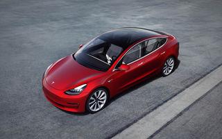 Performanță istorică pentru o mașină electrică: Tesla Model 3, locul 11 în topul celor mai înmatriculate modele în Europa în septembrie