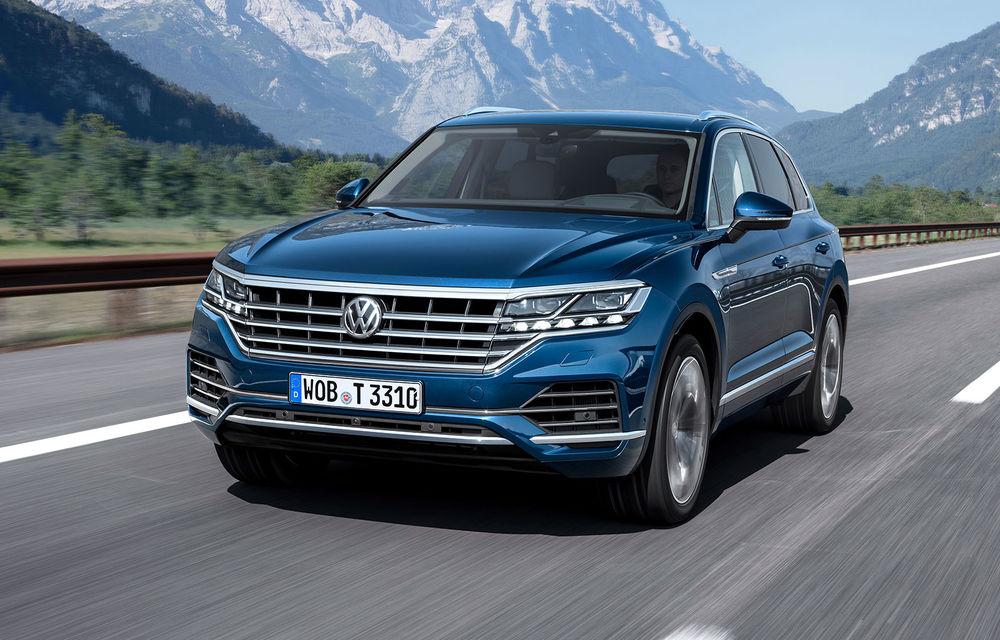 Primul model hibrid în gama de performanță de la Volkswagen: Touareg R plug-in hybrid va fi lansat în 2020, iar vânzările vor începe din 2021 - Poza 1