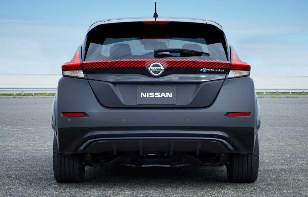 Nissan a pregătit un prototip electric cu tracțiune integrală și 308 CP: conceptul are la bază versiunea Leaf e+ - Poza 9