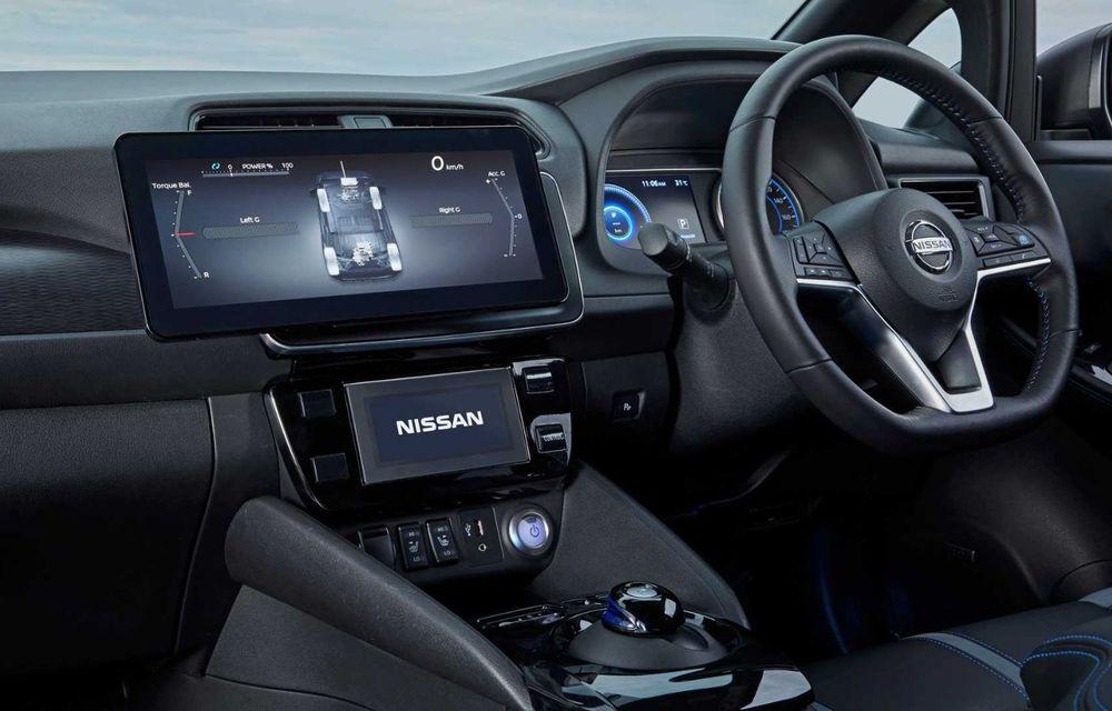 Nissan a pregătit un prototip electric cu tracțiune integrală și 308 CP: conceptul are la bază versiunea Leaf e+ - Poza 11