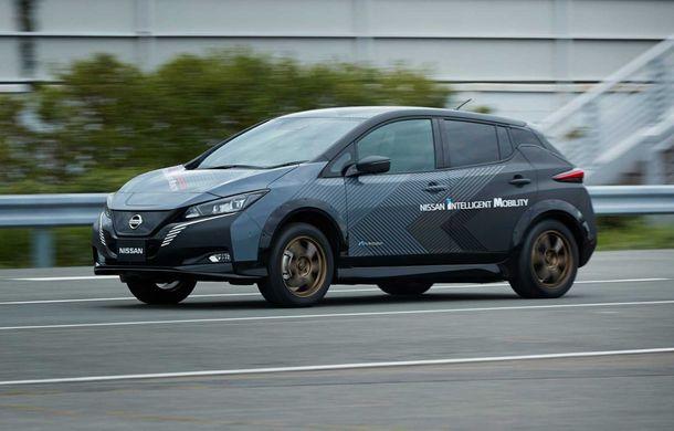 Nissan a pregătit un prototip electric cu tracțiune integrală și 308 CP: conceptul are la bază versiunea Leaf e+ - Poza 4