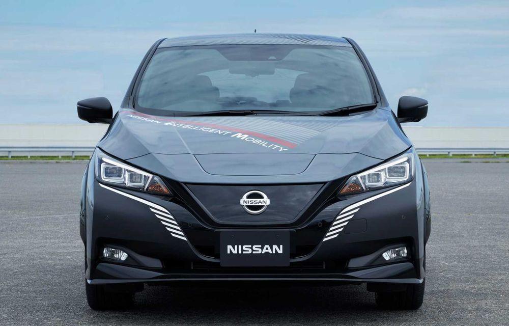 Nissan a pregătit un prototip electric cu tracțiune integrală și 308 CP: conceptul are la bază versiunea Leaf e+ - Poza 5