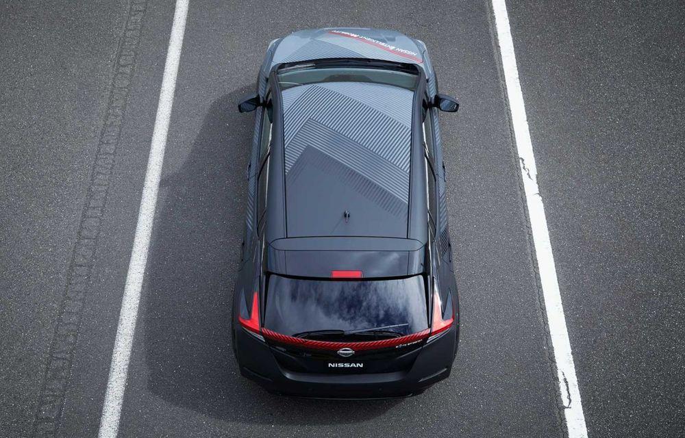 Nissan a pregătit un prototip electric cu tracțiune integrală și 308 CP: conceptul are la bază versiunea Leaf e+ - Poza 10