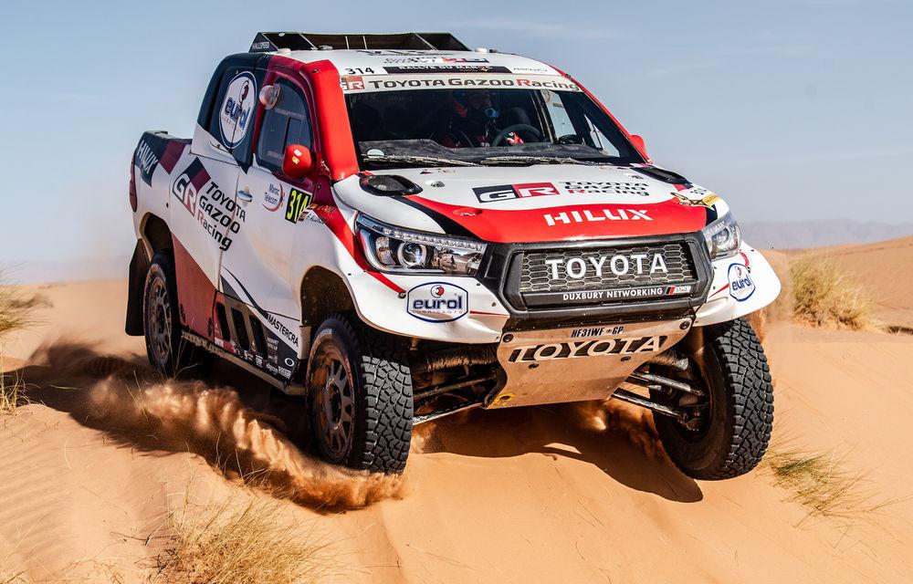 Alonso va concura în Raliul Dakar 2020: spaniolul va conduce un Toyota Hilux în competiția din Arabia Saudită - Poza 1