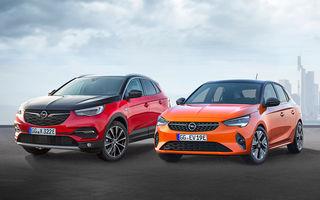 8 modele electrificate în gama Opel până la finalul anului 2021: versiune electrică pentru succesorul SUV-ului Mokka X și variantă electrificată pentru viitorul Astra