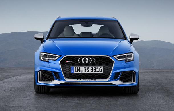 Noua generație Audi A3 va avea și versiune de performanță: viitorul RS3 va miza tot pe motorul de 2.5 litri, dar va oferi circa 420 CP - Poza 1