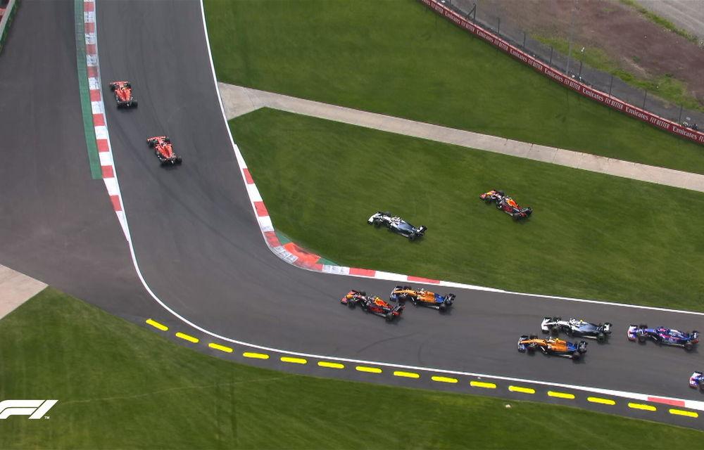 Hamilton a câștigat cursa din Mexic! Vettel și Bottas urcă pe podium, Leclerc termină pe patru o strategie cu două opriri - Poza 2