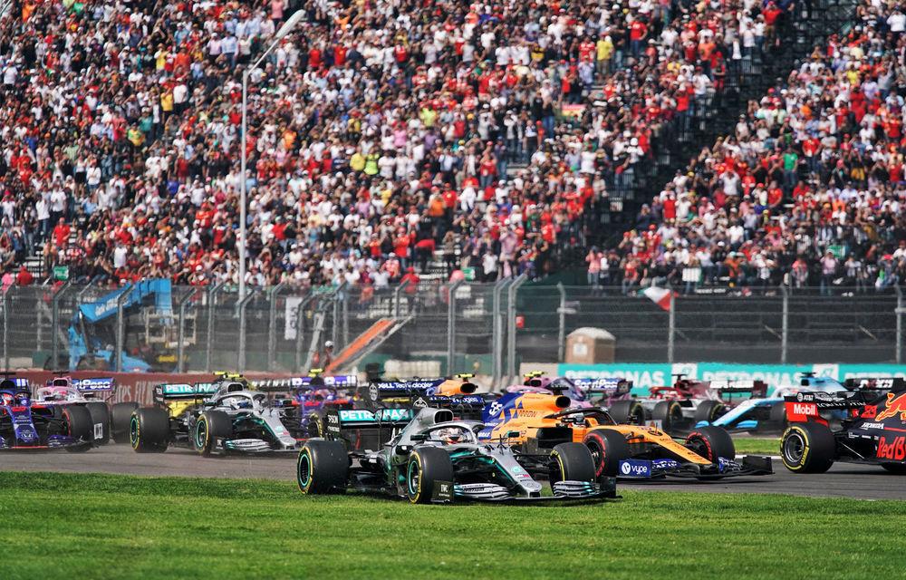 Hamilton a câștigat cursa din Mexic! Vettel și Bottas urcă pe podium, Leclerc termină pe patru o strategie cu două opriri - Poza 1
