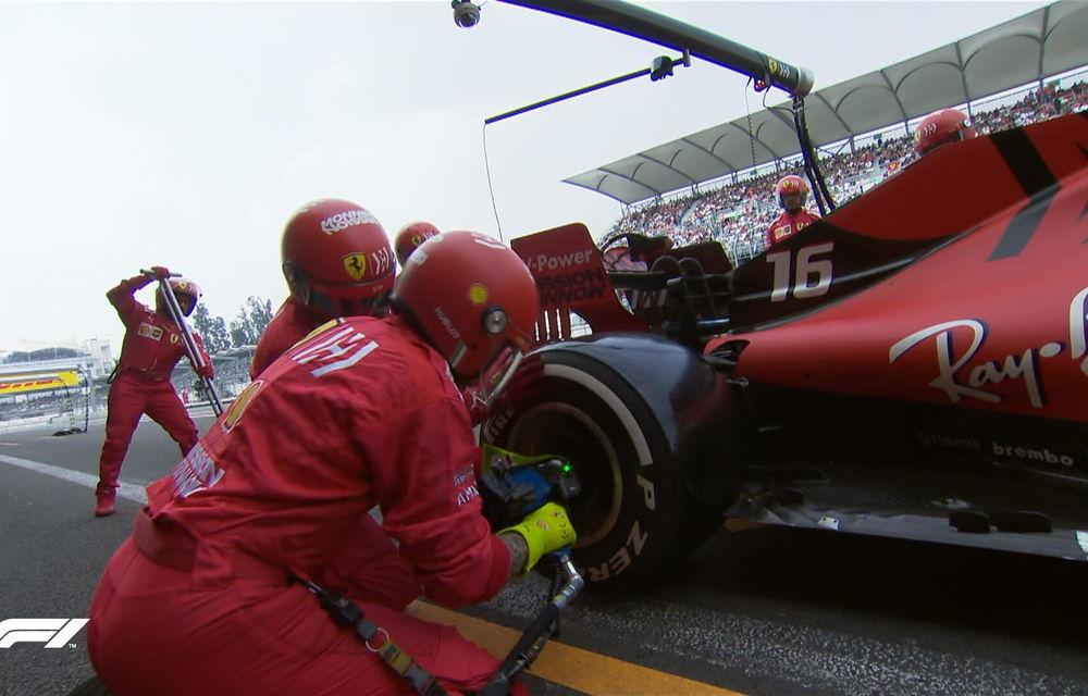Hamilton a câștigat cursa din Mexic! Vettel și Bottas urcă pe podium, Leclerc termină pe patru o strategie cu două opriri - Poza 4