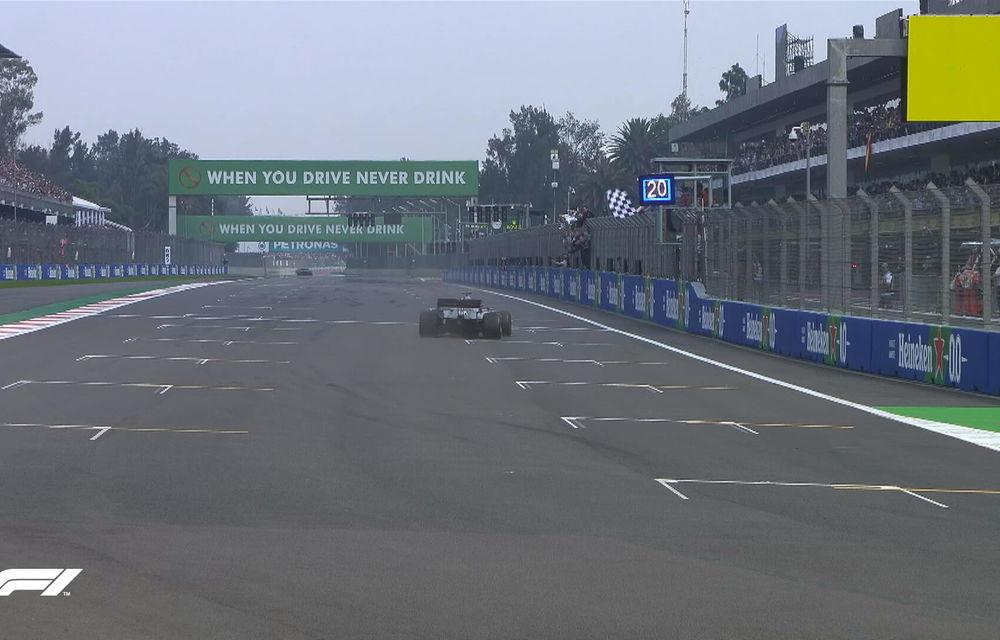 Hamilton a câștigat cursa din Mexic! Vettel și Bottas urcă pe podium, Leclerc termină pe patru o strategie cu două opriri - Poza 6