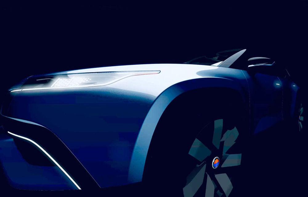 Prototipul viitorului SUV electric Fisker va fi prezentat în luna ianuarie: versiunea de serie va avea peste 480 de kilometri - Poza 1