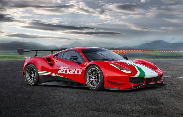 Faceți cunoștință cu Ferrari 488 GT3 EVO: elemente aerodinamice noi, ampatament mai mare și pachet special pentru curse de anduranță de 24 de ore - Poza 3