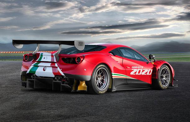 Faceți cunoștință cu Ferrari 488 GT3 EVO: elemente aerodinamice noi, ampatament mai mare și pachet special pentru curse de anduranță de 24 de ore - Poza 7