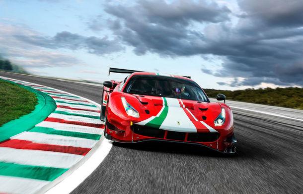 Faceți cunoștință cu Ferrari 488 GT3 EVO: elemente aerodinamice noi, ampatament mai mare și pachet special pentru curse de anduranță de 24 de ore - Poza 2