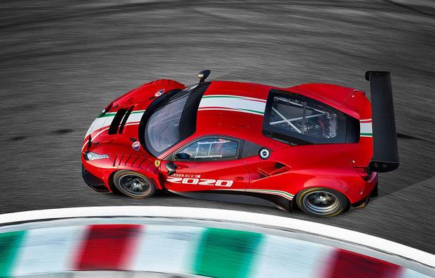 Faceți cunoștință cu Ferrari 488 GT3 EVO: elemente aerodinamice noi, ampatament mai mare și pachet special pentru curse de anduranță de 24 de ore - Poza 4