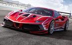 Ferrari a publicat primele imagini și detalii cu 488 Challenge EVO: italienii au pregătit modificări exterioare generoase și un sistem de frânare îmbunătățit