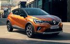Renault Captur va primi și o versiune hibridă în 2020: sistemul E-Tech va fi împrumutat de la noua generație Clio