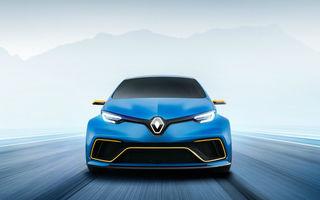 """Renault Zoe RS ar putea debuta în următorii trei ani: """"Trebuie să găsim o soluție astfel încât mașinile de performanță să fie acceptate în continuare de societate"""""""