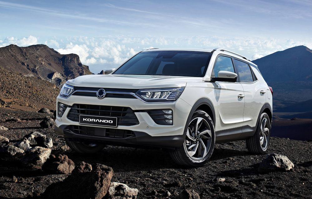 Prețuri pentru SsangYong Korando în România: SUV-ul asiatic pornește de la aproape 19.500 de euro. Promoție de lansare de la 17.990 de euro - Poza 1