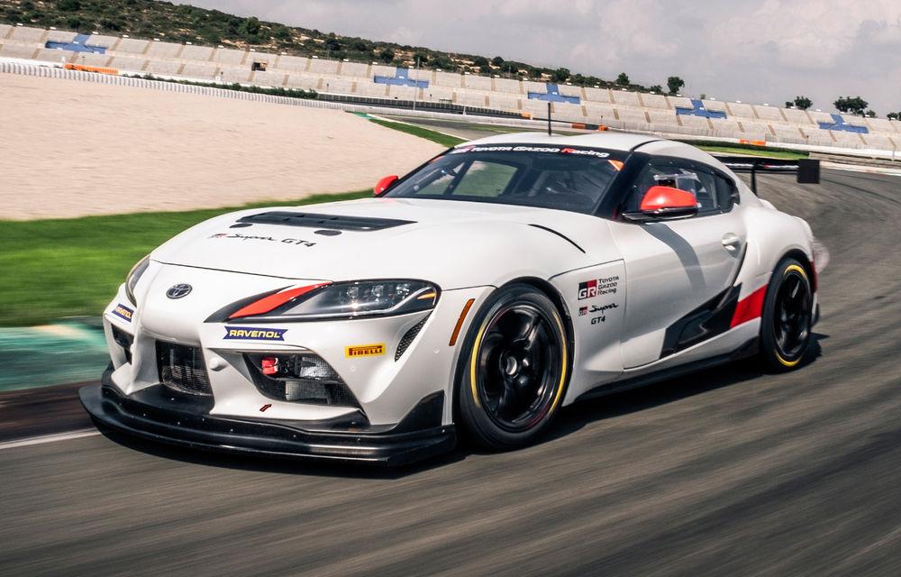 Detalii despre Toyota GR Supra GT4: modelul de curse are 435 de cai putere și va fi disponibil din martie 2020 - Poza 1