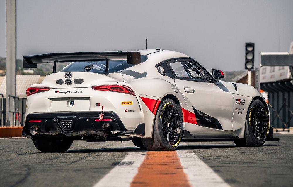 Detalii despre Toyota GR Supra GT4: modelul de curse are 435 de cai putere și va fi disponibil din martie 2020 - Poza 3